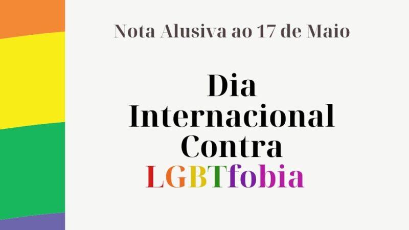 Conselho Regional de Psicologia de PE e Mov. LGBT Leões do Norte lançam nota alusiva ao 17 de Maio