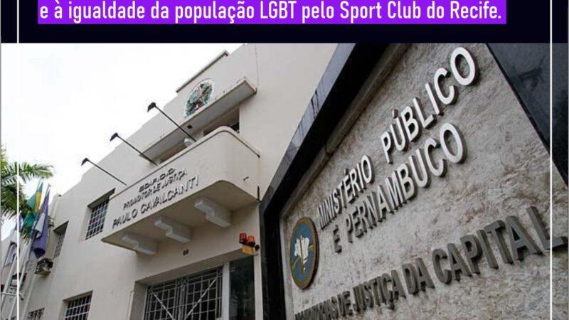 Leões do Norte participa de audiência pública no MPPE sobre o caso de homofobia de um conselheiro do Sport Clube do Recife